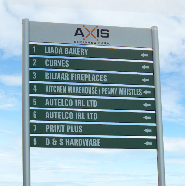 Direction Signs Arrow Signs Hanging Signs Print Plus